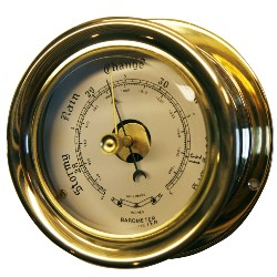 BAROMETER 85MM MÄSSING