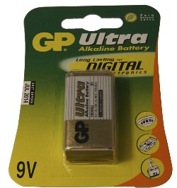 GP ULTRA 6LR61/6LF22 BATTERI