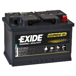 BATTERI EXIDE GEL 56Ah