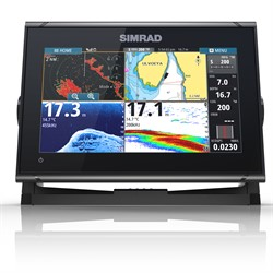 SIMRAD GO9 XSE INKL GIVARE TOTALSCAN +C-MAP KORT