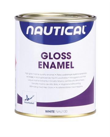 GLOSS ENAMEL GRÅ NAUTICAL 0,75